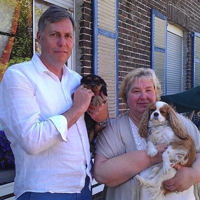 Sylvia und Michael freuen sich über ein zweites Little Colani Mädel Dorie. Die süße Kelly bekommt eine Freundin