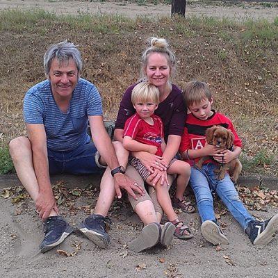Familie Fauth mit Dennis